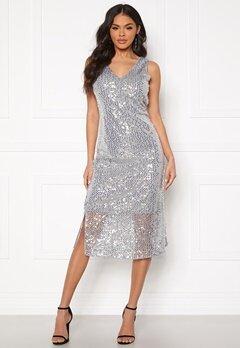 VERO MODA Daisy Calf Dress Silver Sconce Bubbleroom.fi