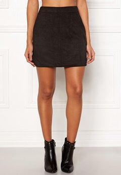 VERO MODA Donna Dina Short Skirt Black Bubbleroom.fi