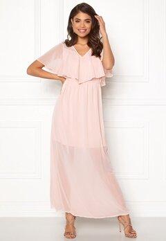 VERO MODA Dora SS Long Dress Sepia Rose Bubbleroom.fi