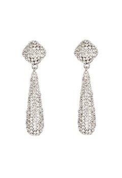 VERO MODA Emily Party Earrings Silver Bubbleroom.fi