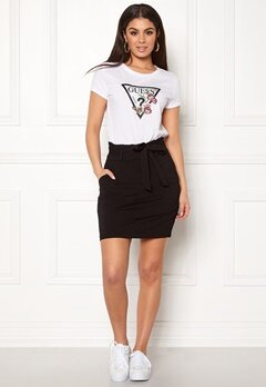 VERO MODA Eva Paperbag Short Skirt Black Bubbleroom.fi