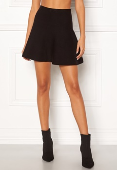 VERO MODA Fresno Short Knit Skirt Black Bubbleroom.fi