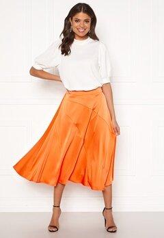 VERO MODA Gabbi Calf Skirt Coral Rose Bubbleroom.fi