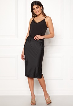 VERO MODA Ginger Skirt Black Bubbleroom.fi