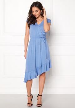 VERO MODA Gloria Capsleeve Dress Vista Blue Bubbleroom.fi
