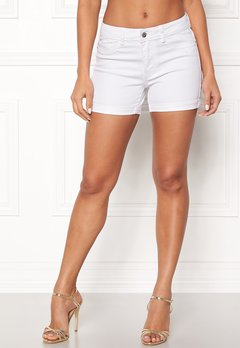 VERO MODA Hot Seven Fold Shorts Bright White Bubbleroom.fi