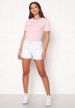 VERO MODA Hot Seven NW Fold Shorts Bright White Bubbleroom.fi