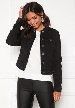 VERO MODA Hot Soya LS Denim Jacket Black Bubbleroom.fi