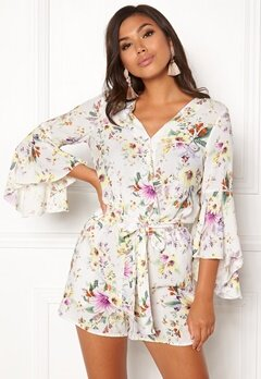 VERO MODA Iselin 7/8 Playsuit Snow White Bubbleroom.fi