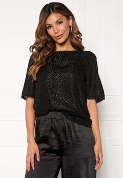 VERO MODA Isolda 2/4 Top Black Bubbleroom.fi