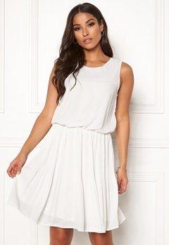 VERO MODA Jackie SL Short Dress Snow White Bubbleroom.fi