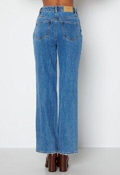 VERO MODA Kithy HR Loose Straight Jeans Medium Blue Denim bubbleroom.fi
