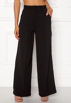 VERO MODA Lanjuli HW Wide Pants Black Bubbleroom.fi