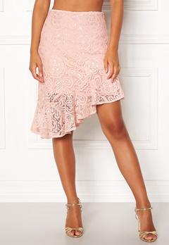 VERO MODA Lizz HW BLK Skirt Sepia Rose Bubbleroom.fi