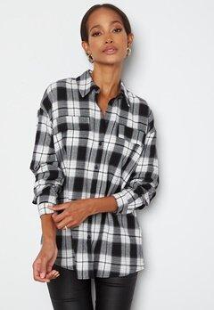 VERO MODA Luna LS Shirt Black Checks bubbleroom.fi