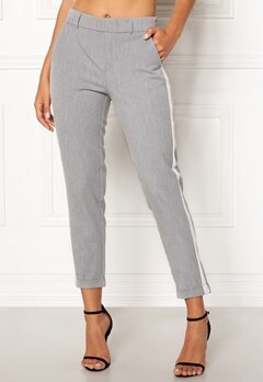 VERO MODA Maya Loose Panel Pant Light Grey Melange Bubbleroom.fi