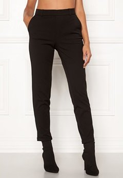 VERO MODA Maya MR Loose Solid Pant Black Bubbleroom.fi