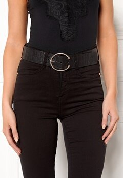 VERO MODA Palermo Leather Belt Black Bubbleroom.fi