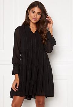 VERO MODA River L/S Short Dress Black Bubbleroom.fi