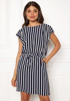 VERO MODA Sasha Bali Short Dress Navy Blazer/Stripe Bubbleroom.fi