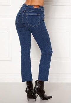 VERO MODA Sheila MR Kick Flare Ank Jeans Dark Blue Denim Bubbleroom.fi