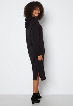 VERO MODA Silky L/S Slit Dress Black bubbleroom.fi