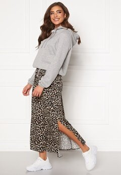 VERO MODA Simply Easy Maxi Skirt Oatmeal Bubbleroom.fi