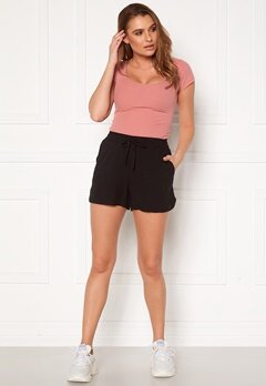VERO MODA Simply Easy Nw Shorts Wvn Ga Black Bubbleroom.fi