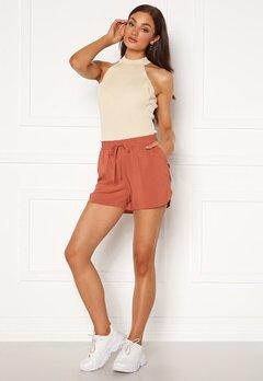 VERO MODA Simply Easy Nw Shorts Wvn Ga Marsala Bubbleroom.fi