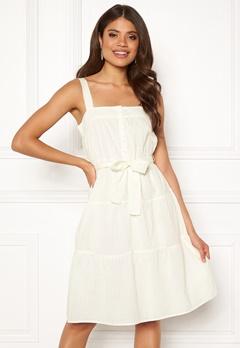 VERO MODA Soleima SL Dress Snow White Bubbleroom.fi