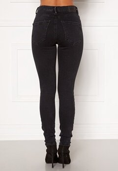 VERO MODA Sophia HR Skinny Jeans Dark Grey Denim Bubbleroom.fi