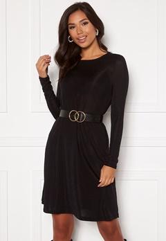 VERO MODA Sparkle L/S Dress Black lurex Bubbleroom.fi