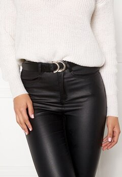 VERO MODA Tahi Leather Jeans Belt Black Bubbleroom.fi