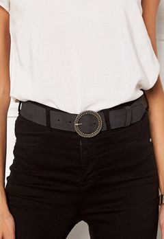 VERO MODA Trona Leather Jeans Belt Black Bubbleroom.fi