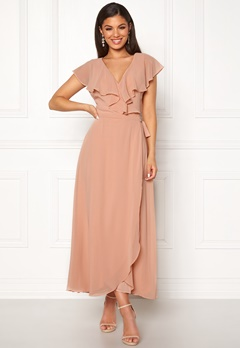 VERO MODA Vida SL Ankle Dress Misty Rose Bubbleroom.fi