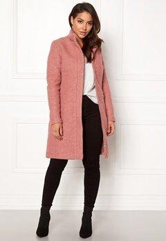VILA Alanis Coat Ash Rose Bubbleroom.fi