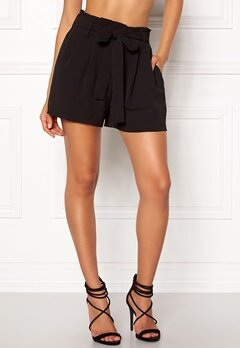 VILA Alure Shorts Black Bubbleroom.fi