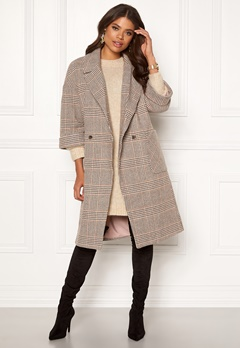 VILA Amoro Wool Sleeve Coat Puce Bubbleroom.fi