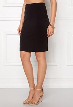 VILA Asmin Skirt Black Bubbleroom.fi
