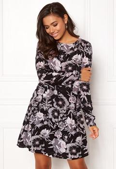 VILA Astha L/S Dress Black Bubbleroom.fi
