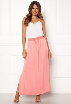 VILA Cava Maxi Skirt Brandied Apricot Bubbleroom.fi