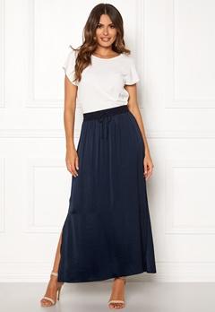 VILA Cava Maxi Skirt Total Eclipse Bubbleroom.fi
