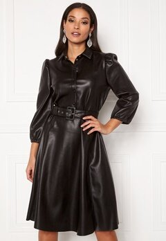 VILA Daras 3/4 Dress Black Bubbleroom.fi