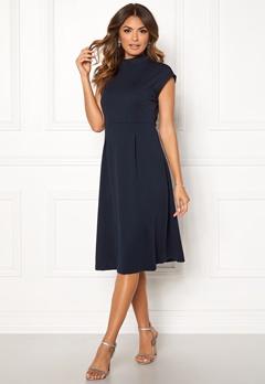 VILA Ellery S/L Dress Total Eclipse Bubbleroom.fi