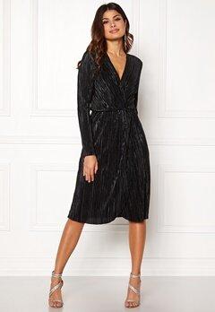 VILA Frances New Knot Dress Black Bubbleroom.fi