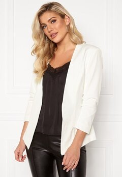 VILA Her 3/4 New Blazer Snow White Bubbleroom.fi