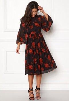VILA Jelana 3/4 Sleeve Dress Black Bubbleroom.fi