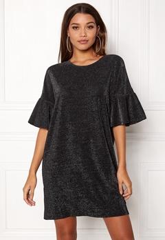 VILA Jomine T-Shirt Dress Black Bubbleroom.fi