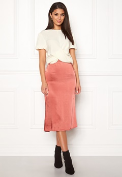 VILA Julie Skirt Dusty Cedar Bubbleroom.fi