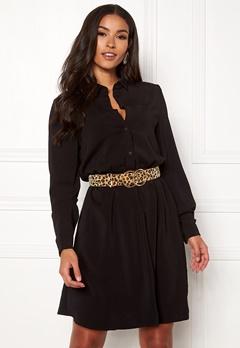 VILA Laia Shirt Dress Black Bubbleroom.fi